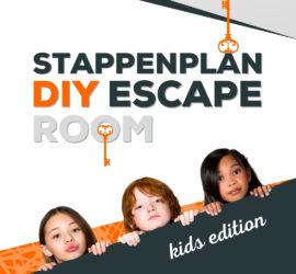 DIY Stappenplan zelf maken Escaperoom kinderen thuis